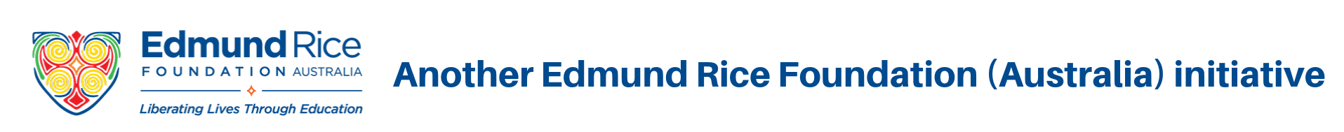 Another Edmund Rice Foundation (Australia) initiative